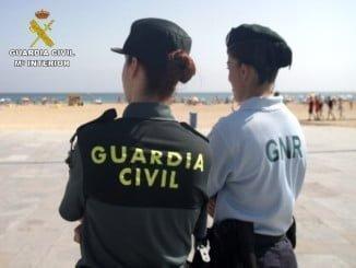 La cooperación transfronteriza entre la Guradia Civil y la GNR portuvuesa,  funcionó