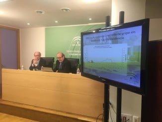 Momento de la presentación del Plan para dar una  respuesta más eficaz y coordinada a la población