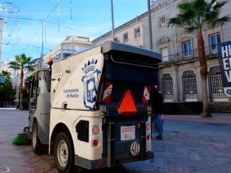 El Ayuntamiento ha reforzado la limpieza en estas fechas