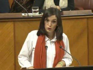 La dirigente socialista es vocal en la Comisión de Hacienda