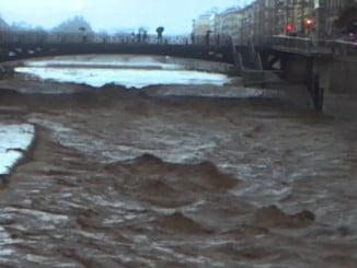 Málaga inundada por la tromba de agua de anoche