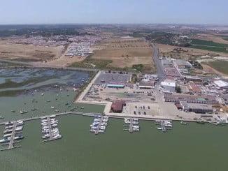 El Puerto del Terrón, en Lepe, uno de los 37 puertos autonómicos que serán mejorados con el Plan PISTA 2020