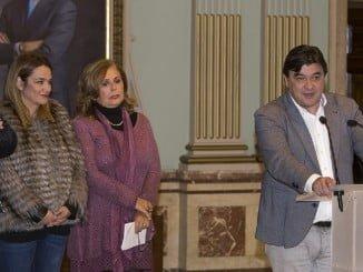 Rueda de prensa para explicar el dispositivo puesto en marcha para las campanadas de Fin  de año en Huelva campanadas