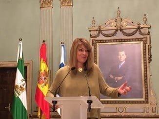 Pilar Miranda, portavoz del Grupo Popular en el Ayuntamiento de Huelva