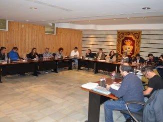 Celebración del Pleno municipal de Punta Umbría