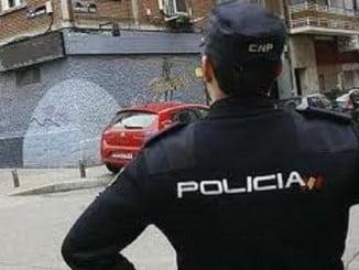 La Policía Nacional detuvo al infractor