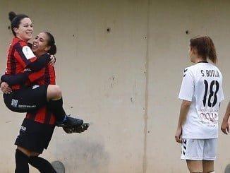 En el minuto 85 de un partido trepidante, el equipo onubense conseguía el empate por tercera vez
