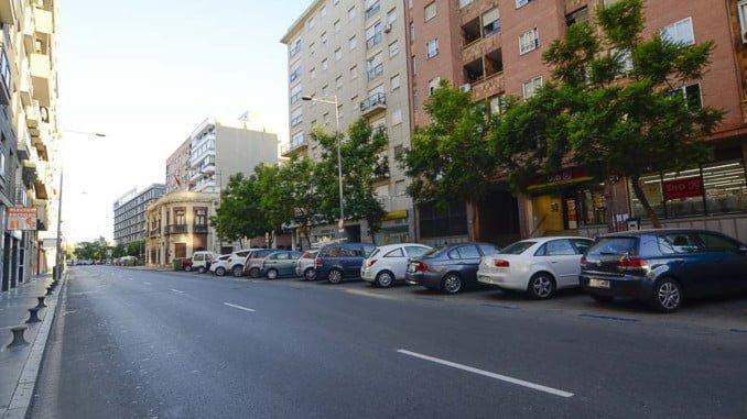 Viviendas en la Avenida de Italia (Huelva)
