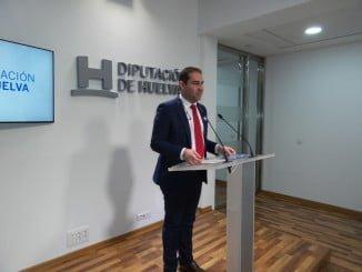 José Luis Ramos ha  explicado las ayudas que se destinarán a Pymes de Huelva