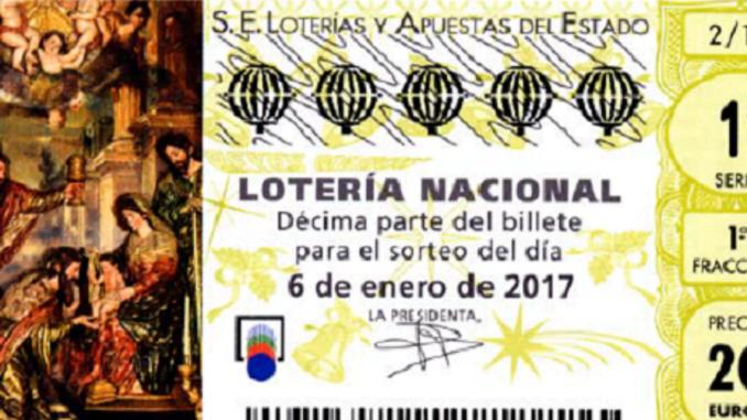 Imagen del sorteo de El Niño del 2017.