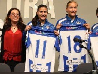 El Sporting presentó sus refuerzos para aspira al máximo en la Liga de Prinera División Femenina.