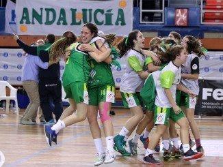 La  selección de Andalucía infantil logra el oro en Campeonato de España.