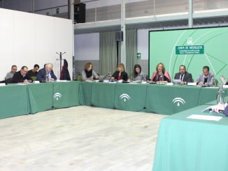 Carmen Ortiz presidió la Mesa de Interlocución