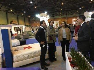 Numerosas empresas de muebles, algunas de ellas de Huelva, expondrán sus productos hasta el domingo.