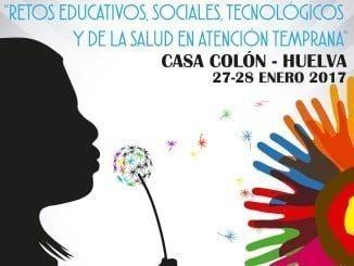 Cartel anunciador del Congreso que se celebrará en Huelva a final de mes.