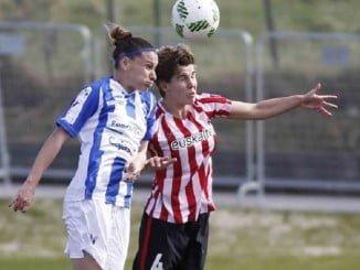 No pudieron traerse la chicas del Sporting ningún punto de la visita a Bilbao.