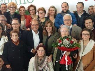 Susana Diaz acompañó a la militancia de Ayamonte en la inauguración de nueva Casa de Pueblo este domingo.