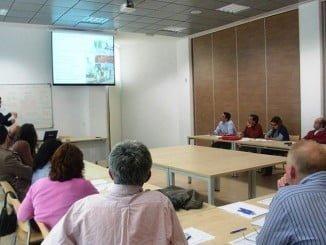 En una de estas aulas se llevará a cabo el curso sobre fitosanitario en Adesva