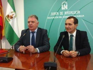 Francisco José Romero y Manuel Ceada han valorado los últimos datos del paro en Huelva