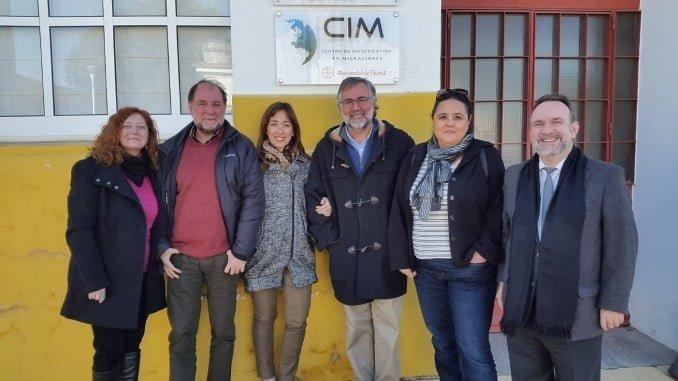 En el Centro de Investigación de Migraciones del Campus del Carmen, ya luce una placa señalizando su ubicación