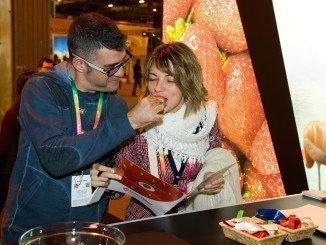 En el Stand de la Capitalidad Gastronómica, que este año correspondía a Huelva, e superaron las 4.500 degustaciones de producto onubense