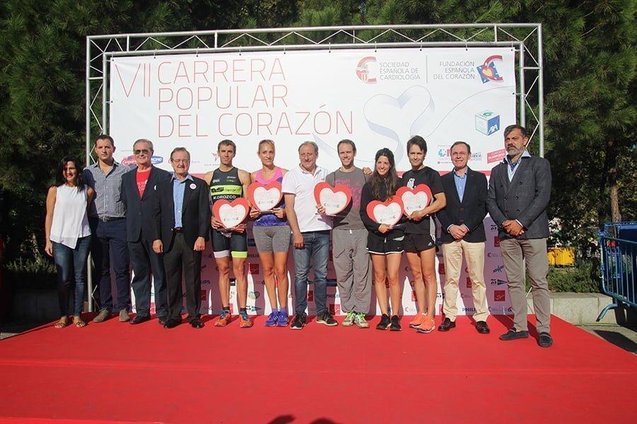 Imagen de la popular Carrera del Corazón, una saludable iniciativa