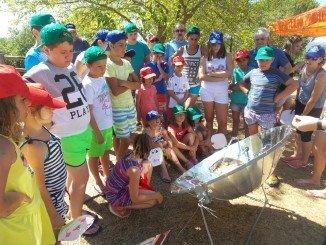 Cocina solar en El Granado