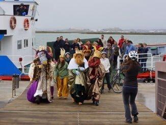 Los Reyes Magos llegan mañana día 5 en barco a Ayamonte