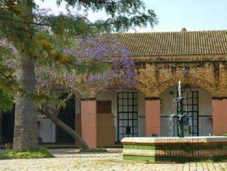 El suelo del patio de la Escuela de Arte León Ortega albergará este peculiar secreto