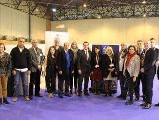 Representantes de las empresas participantes en las reuniones de Surmueble
