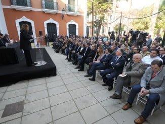 Susana Díaz ha manifestado, el el acto de presentación de Huelva Capital Gastronómica 2017 celebrado en la Casa Colón, que éste será un año de oportunidades para Huelva
