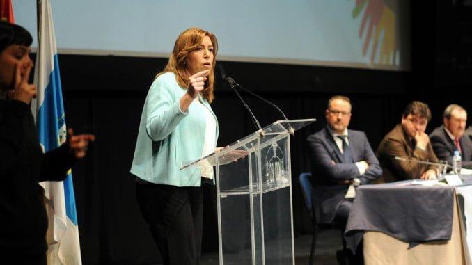La presidenta de la Junta de Andalucía ha inaugurado en Huelva el I Congreso de Atención Temprana