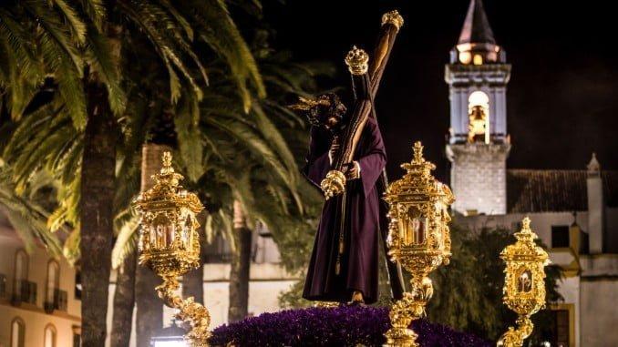 Imagen de la Semana Santa de Ayamonte