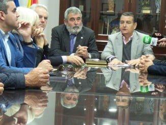 Representantes de Asaja se reúnen con Antonio Sanz