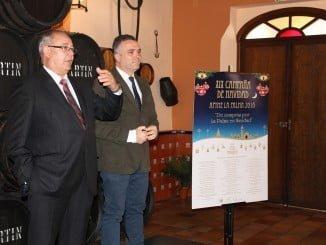 Los empresarios palmerinos ya ven el repunte de la recuperación económica, según dijeron en el cierre de la campaña de navidad en la que estuvo presente el alcalde