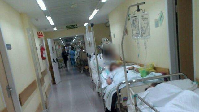 Las bajas temperaturas hacen que los hospitales se saturen y el SAS ha reforzado la plantilla para atender a ese aumento de pacientes que se espera