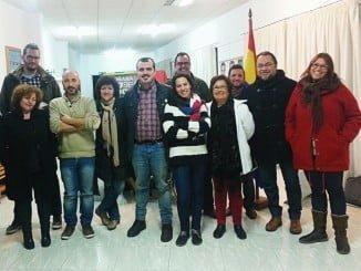 Integrantes del Comité Provincial del PCA en Huelva