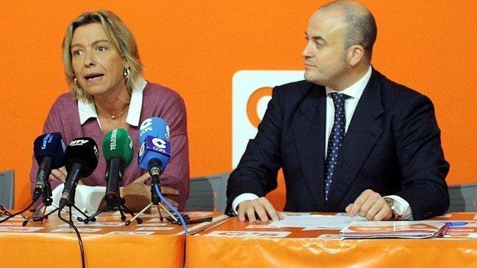 Isabel Albás y Julio Díaz en rueda de prensa
