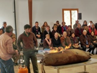 La matanza del cerdo es una tradición que se mantiene viva en muchos pueblos de Huelva