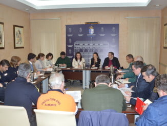Reunión de la Junta Local de Seguridad en Almonte