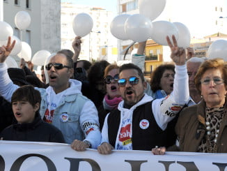 Huelva ya ha dicho no dos veces a la fusión hospitalaria y pide una sanidad digna