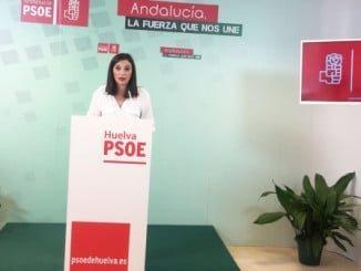 La vicesecretaria general del PSOE de Huelva María Márquez