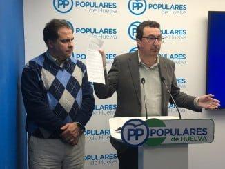 El presidente del PP asegura que el único y gran perjudicado es el municipio de Aljaraque