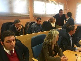 Manuel Andrés González ha acompañado al Grupo Municipal en el pleno