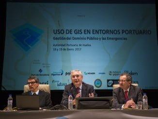 Presentación del las Jornadas en el Puerto de Huelva