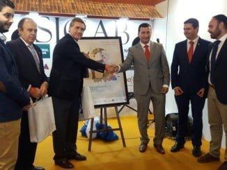 Retrospectiva de la presentación de la Feria Agrícola Comercial de Rociana en la pasada edición de Sicab