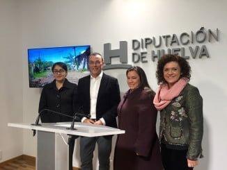 El presidente de la Diputación junto a representantes de la Organización Mil Solidarios de Paraguay