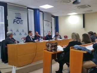 Reunión de la Junta Directiva de la FOE