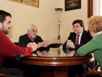 El alcalde ha mostrado su apoyo a la asociación provincial