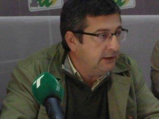 Sebastián Rivero, portavoz IU en el Ayuntamiento de Aljaraque